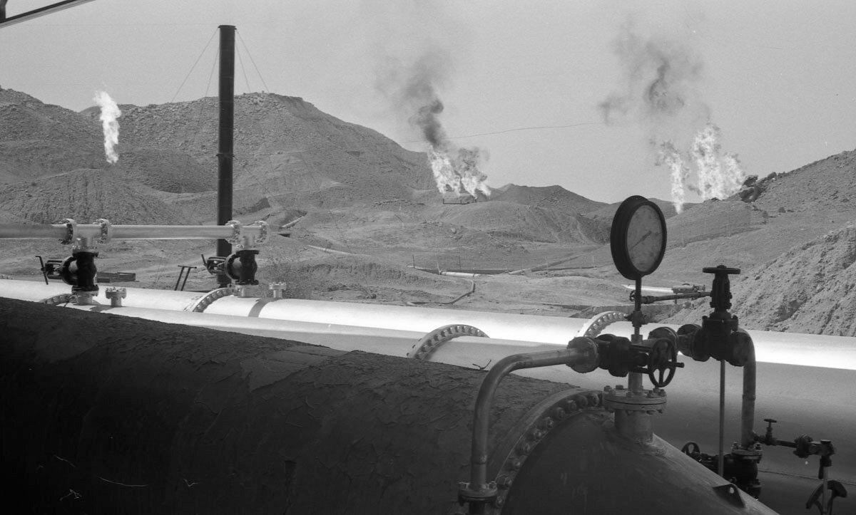 33. Нефтяная промышленность в Иране, 1958
