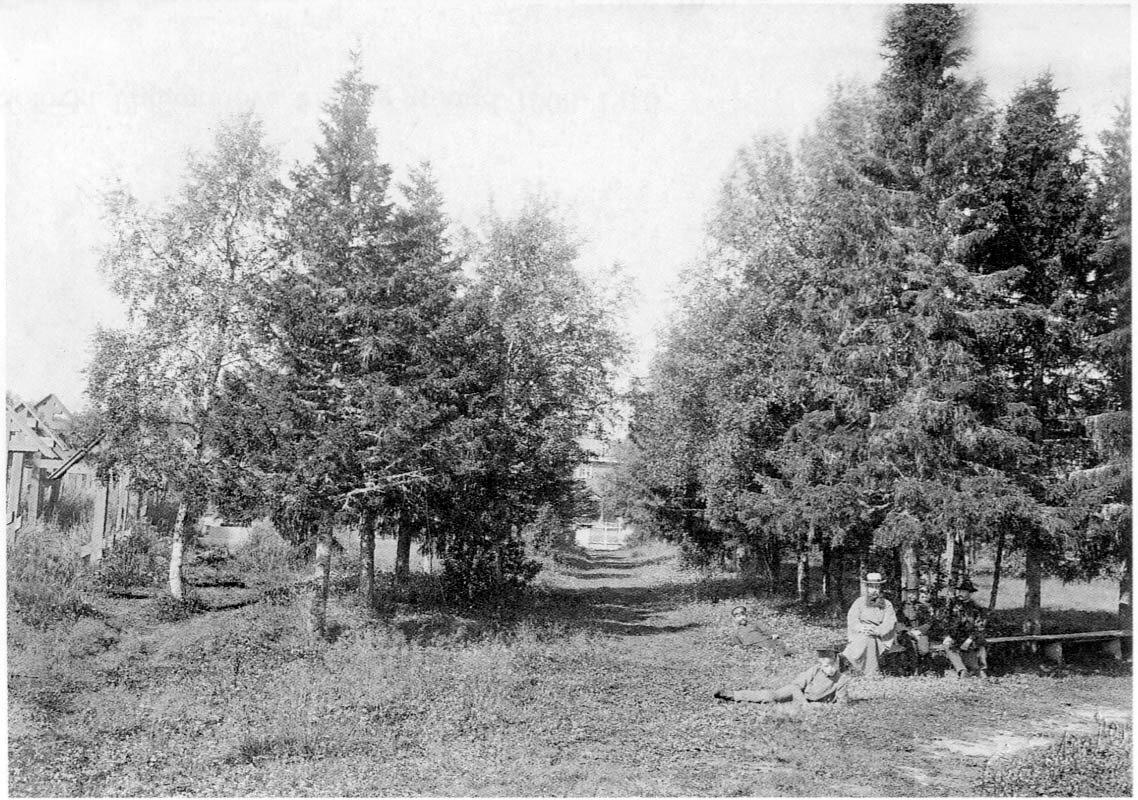 Соловецкий монастырь. Кладбище. 1908-1910