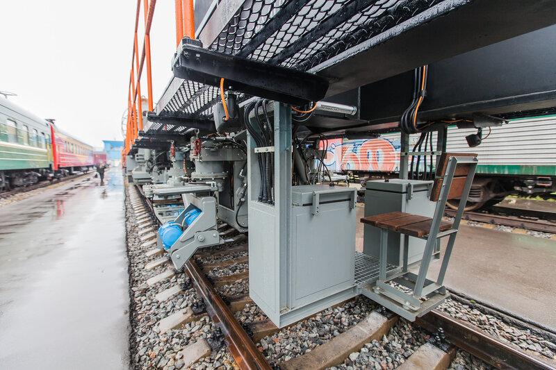 Место оператора для мониторинга железнодорожных путей