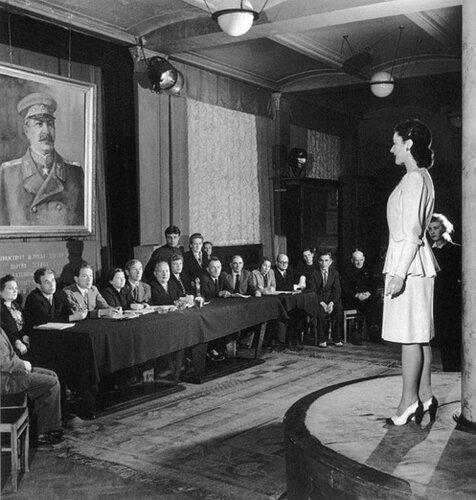 1947 год. Москва глазами американских фотографов.