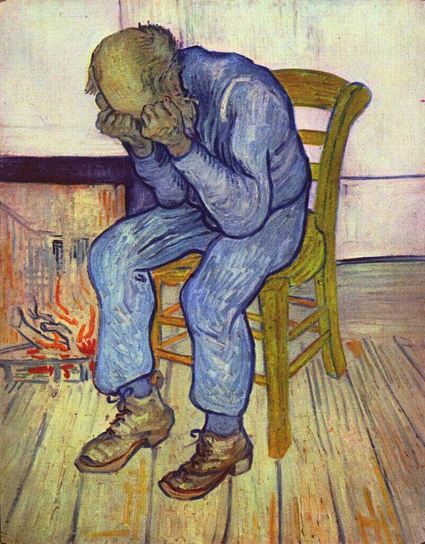 """""""На пороге вечности,"""" 1890, Ван Гог(1853-1890)"""