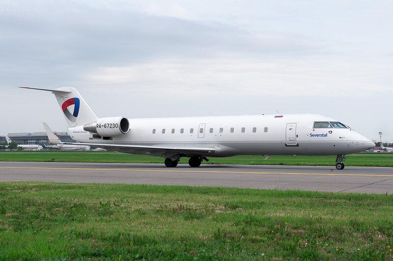Bombardier CRJ-200LR (RA-67230) Северсталь DSC_1467