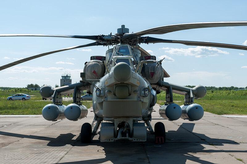 Миль Ми-28Н (RF-93942 / 09 жёлтый) D706748