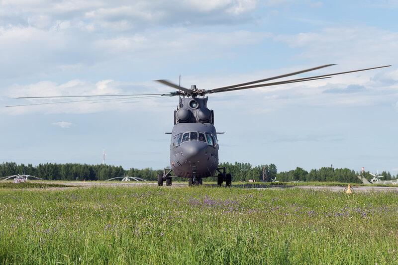 Миль Ми-26 (RF-95571 / 01 жёлтый) D706773