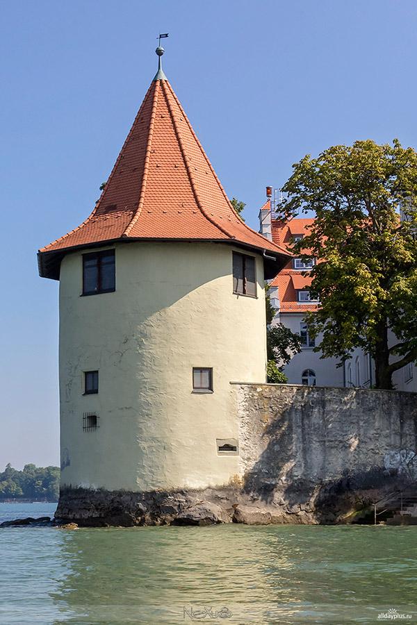 Остров Линдау, Бодензее, Германия.