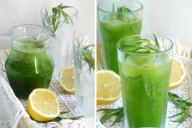 Как сделать лимонад в домашних условиях тархун