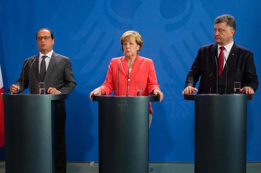 Меркель, Олланд, Порошенко в Берлине, пресс-конференция 24.08.15-2.png