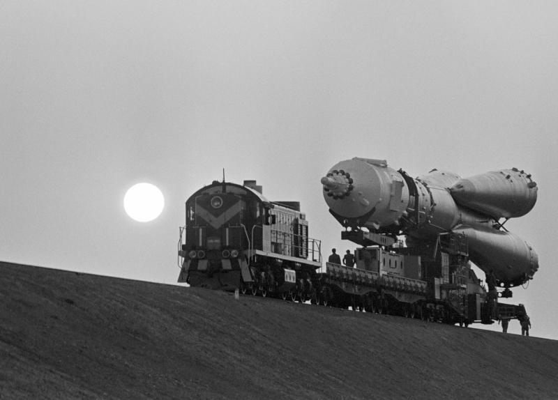 """Космический корабль """"Союз Т-8"""", 1983 год"""