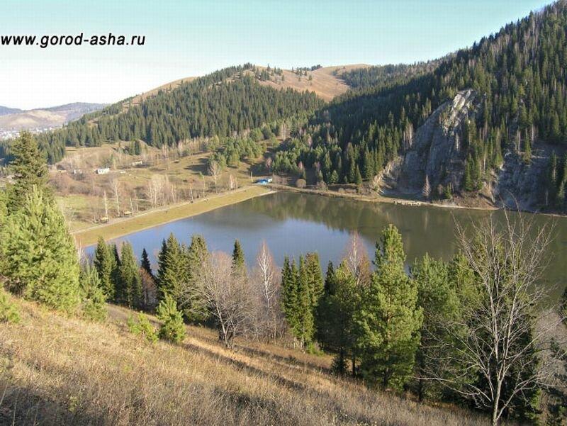Вид с горы Жукова Шишка (28.06.2013)