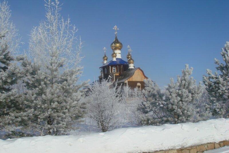 Храм Всех Святых, в земле Российской просиявших (14.10.2013)
