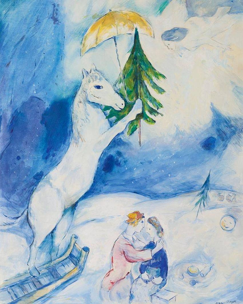 Marc Chagall - Рождественская фантазия