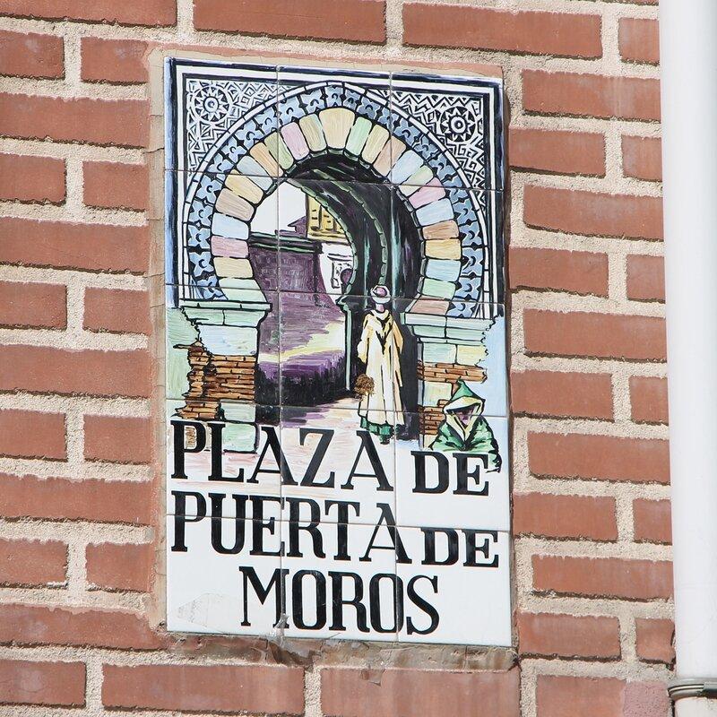 Madrid. Cebada market (Mercado de la Cebada)