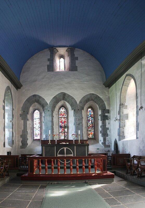 Авалдснес. церковь Святого Олафа. St. Olav's Church at Avaldsnes