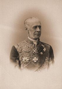Строганов Павел Сергеевич (1823-1911) - граф, действительный тайный советник, обер-шенк Двора его императорского величества, член Государственного Совета Российской империи. Портрет.