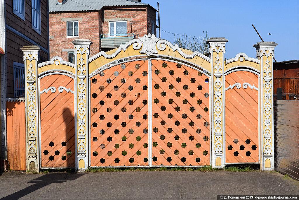 Столбы для ворот и как их украсить