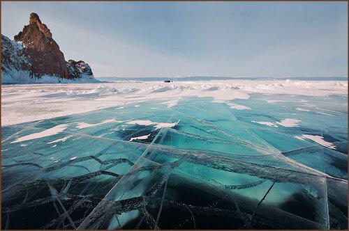 Удивительный лёд Байкала