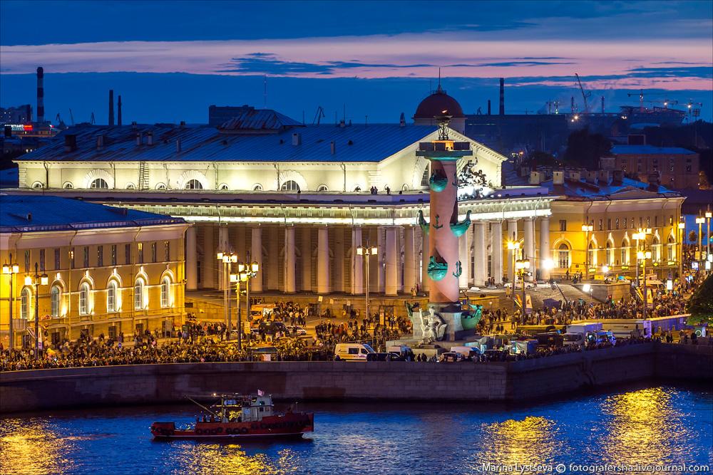 Санкт-Петербург с крыши Зимнего дворца