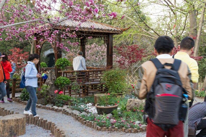 Маленький сад, парк Сяншань, Пекин