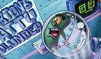 Игра Спанч Боб планктон укради рецепт