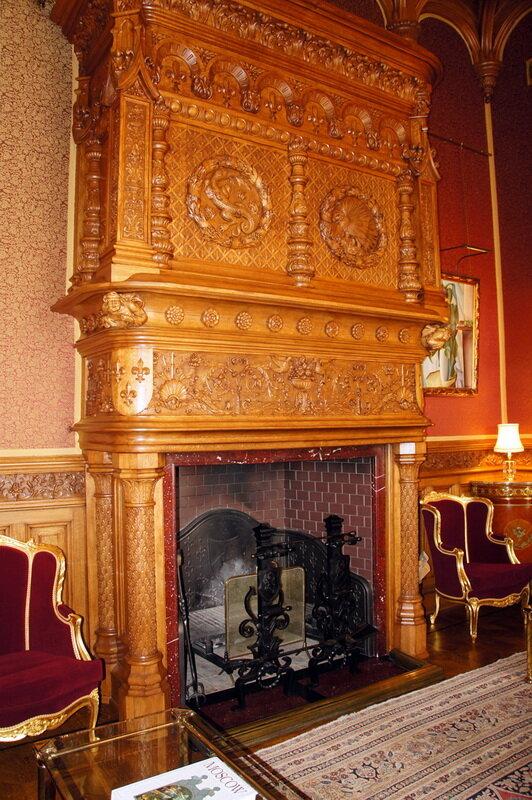 Резиденция посла Великобритании (Софийская наб) интерьеры Шехтель