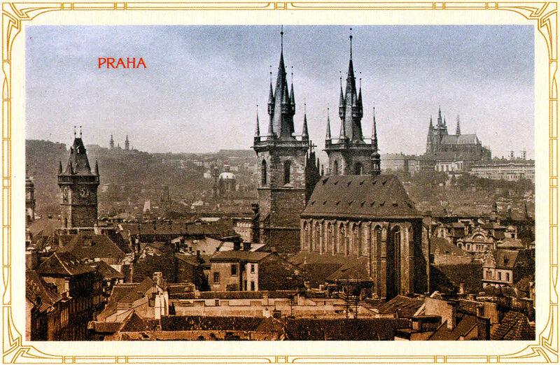 14. Общий вид на Старе-место (Старый Город). 1929 год