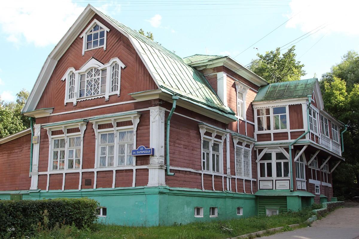 Дом графини Милютиной