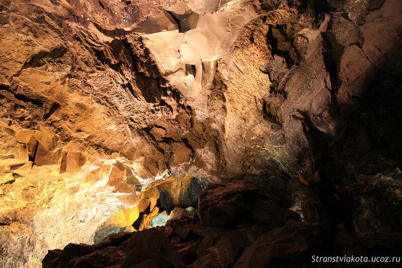 Лансароте, Cueva de los Verdes