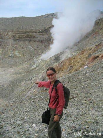 Вулкан Эгон рядом с Маумере