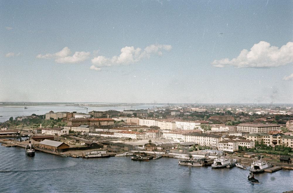 Архангельск. Речной вокзал (середина 1950-х годов) 1000.jpg