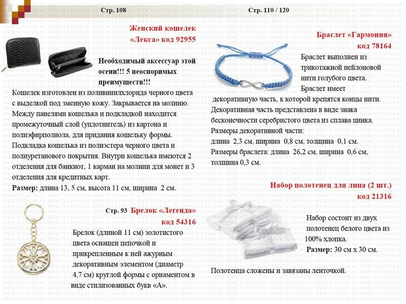 Подробное описание новинок каталога 15/2013_012