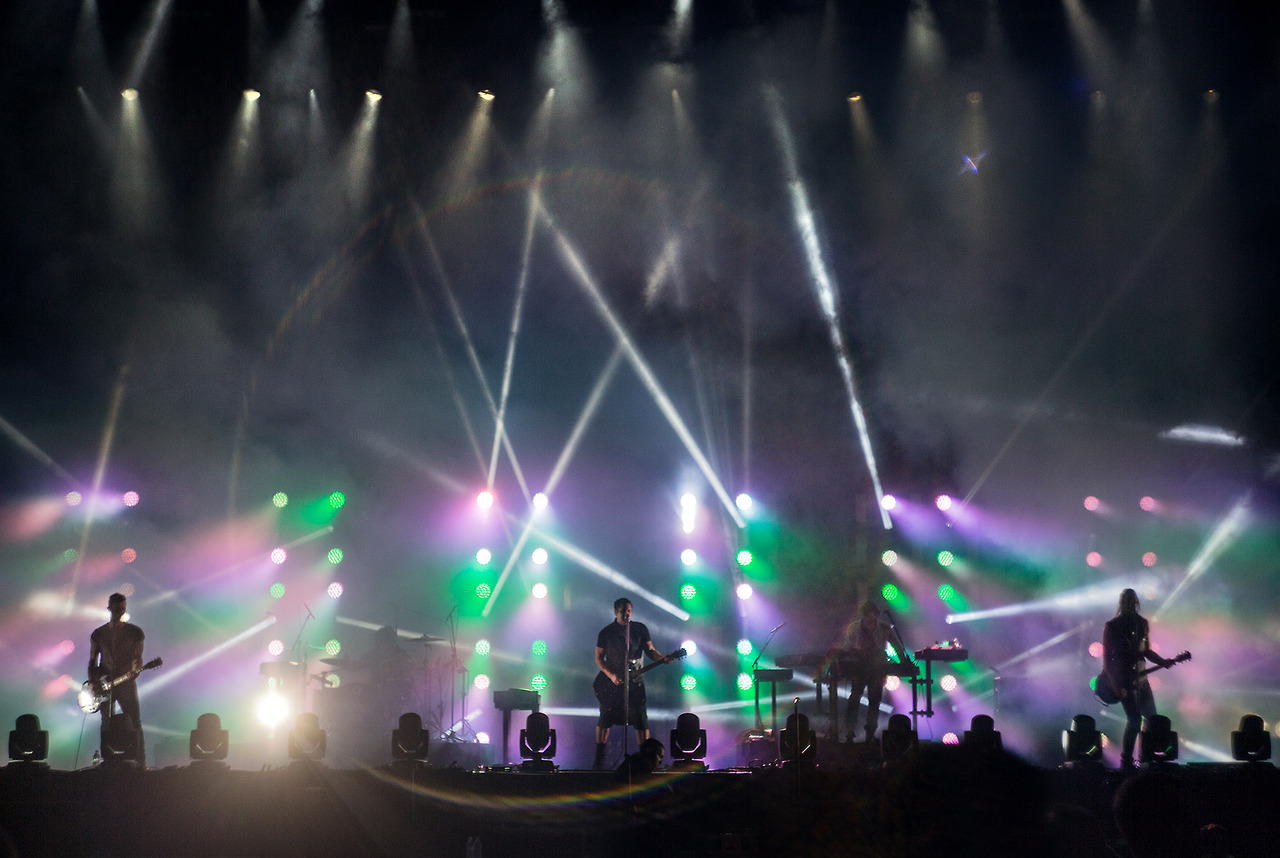 Nine Inch Nails live 2013. Photographed at the Leeds and Made In ...