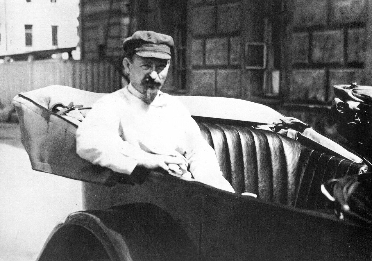 Ф. Э. Дзержинский. 1919 год