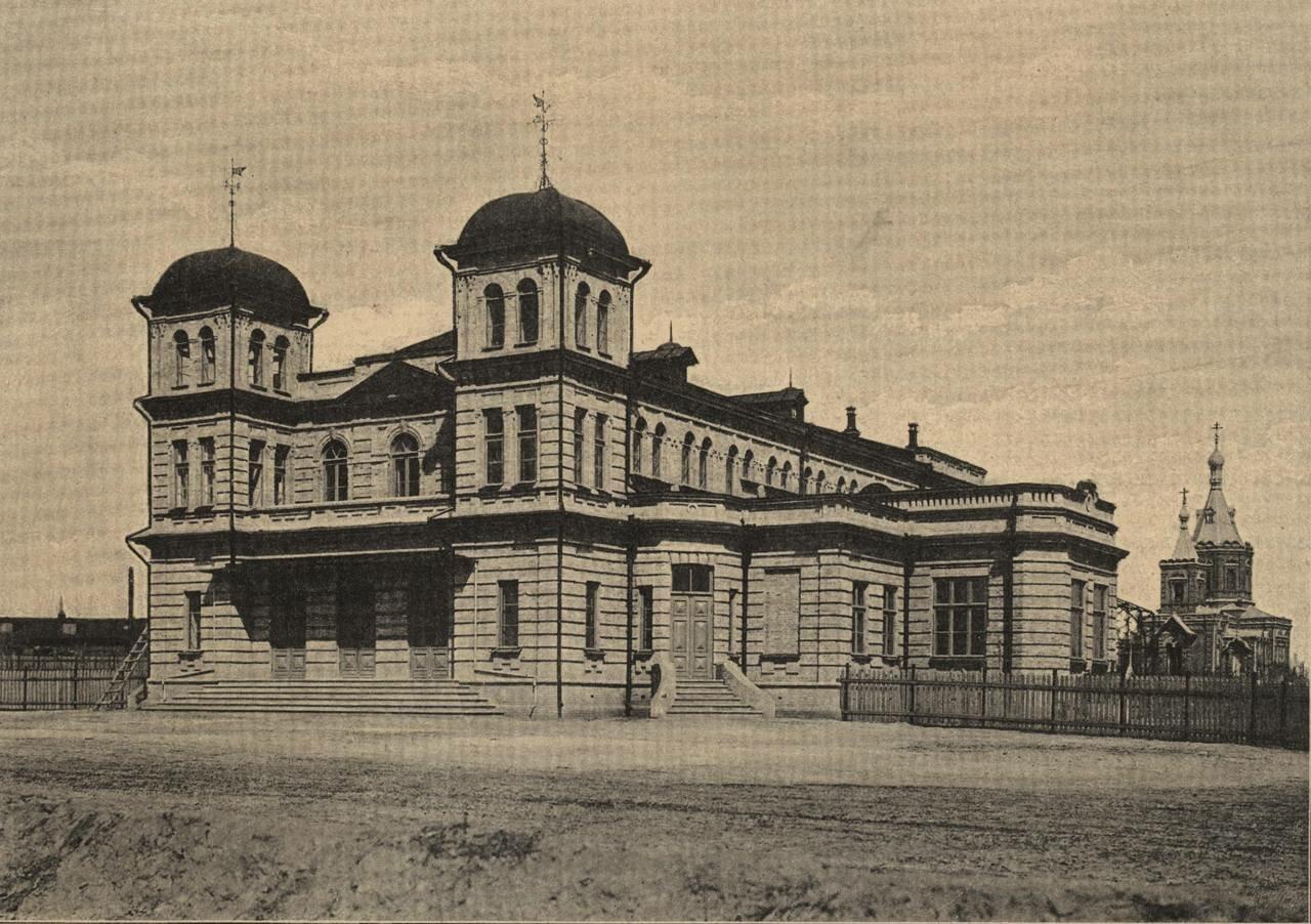 Народная аудитория, построенная в 1900 г.