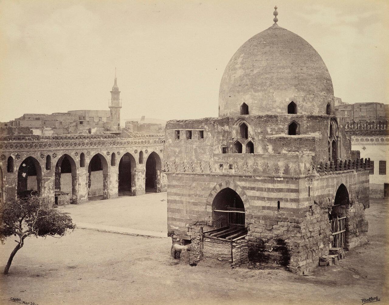 25 марта 1862. Фонтан в мечети Ибн Тулуна, Каир