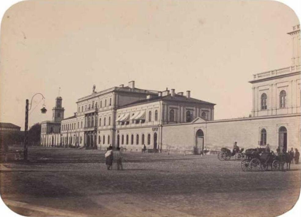 Венский вокзал 1858