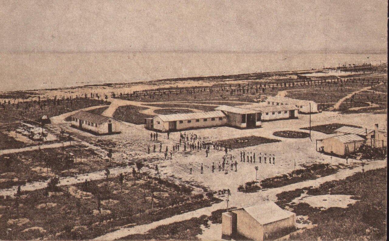Лузановка. Санаторий. Общий вид. 20-е годы