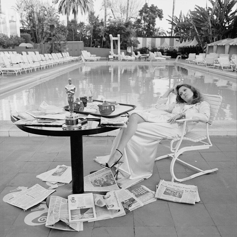 1976. Фэй Данауэй. Лос-Анджелес