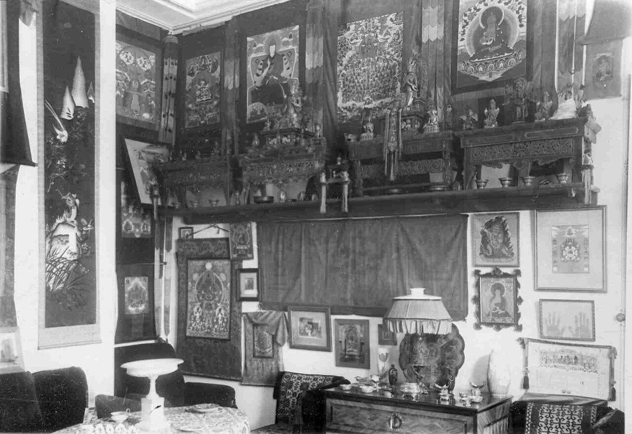 Квартира камергера Н.Ф.Бурдукова (Спасская ул., 27) . Вид части комнаты