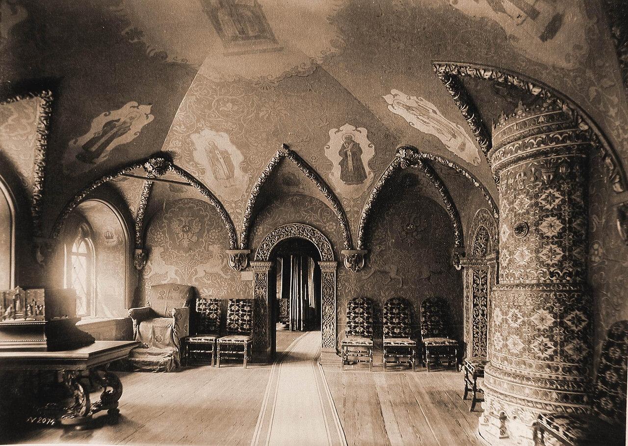 Вид кабинета в Теремном дворце Кремля. Москва