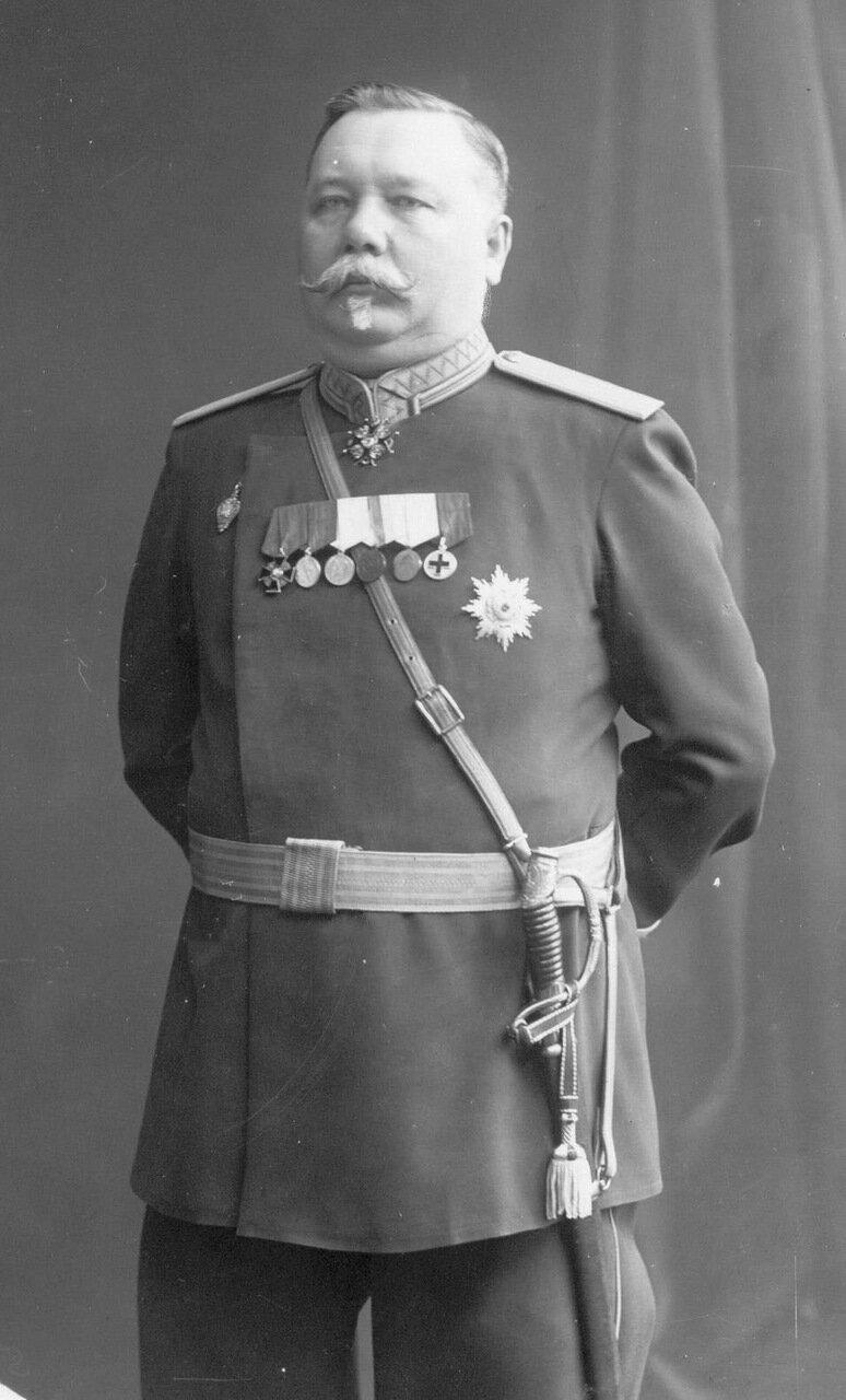 Начальник тюрьмы А.И.Штрандман