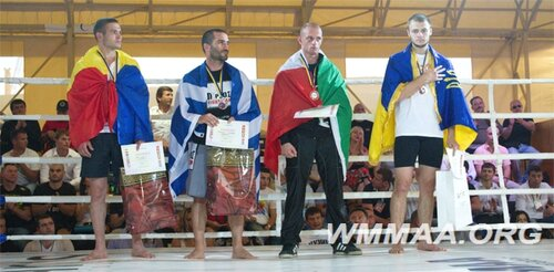Молдавские бойцы завоевали две бронзовые медали