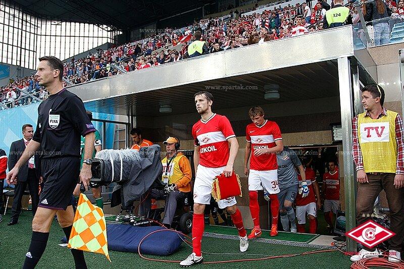 «Спартак» vs «Санкт-Галлен» 2:4 4-й раунд Лига Европы 2013-2014 (Фото)
