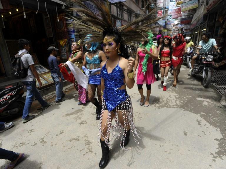 NEPAL-RIGHTS-GAY-PARADE