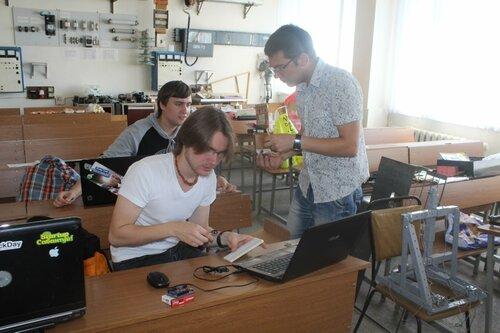 Летняя школа прототипирования и робототехники НГТУ