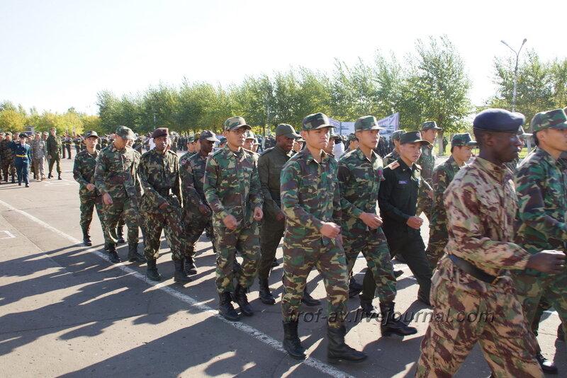 ОТИИ, День танкиста-2012, иностранные курсанты, Омск