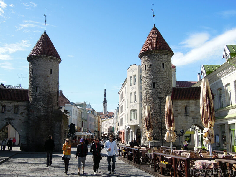 Старый город Таллина. Ворота Виру