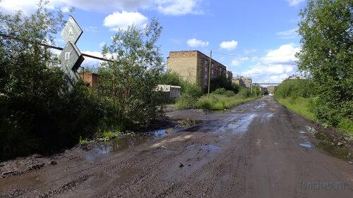 Фото города Инта №5097  Центральный въезд на бывший ДОЗ