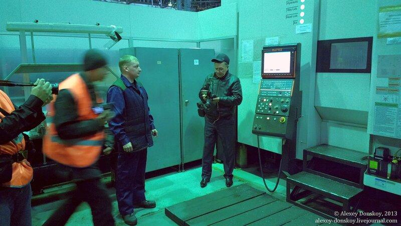 Один из обрабатывающих центров автоматической линии