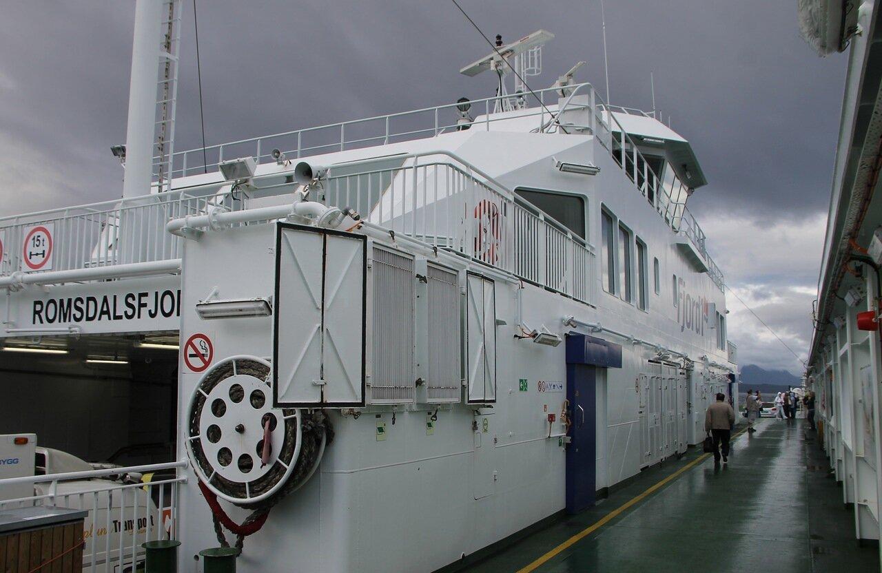 Паром Romsdalsfjord, Молде-Вестнес
