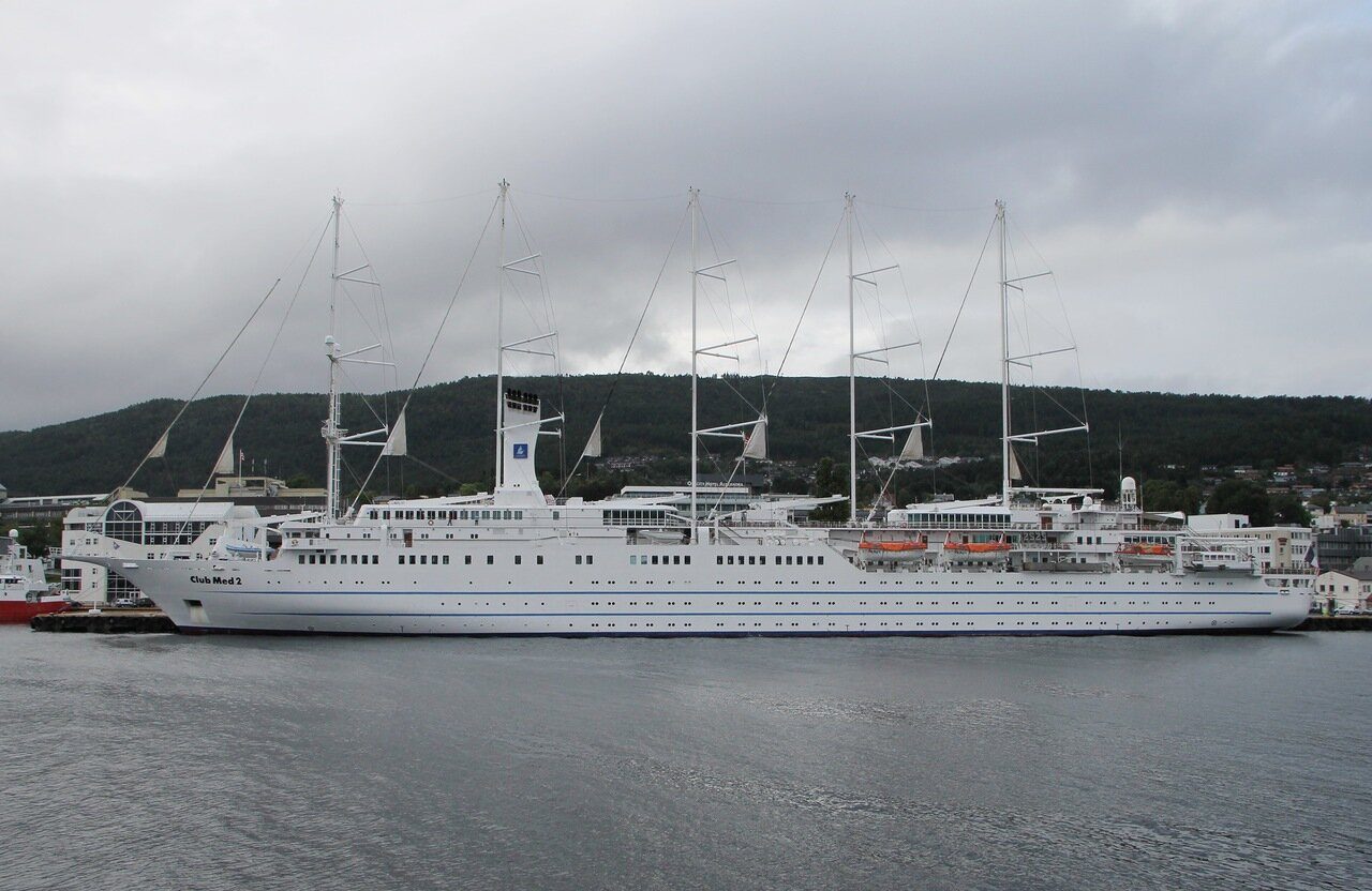Club Med 2, круизный парусник, Молде, Норвегия